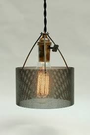 industrial metal lamp shade best 25 ideas on concrete light 2