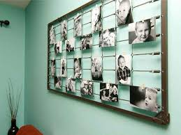 Unique-Method-for-Hanging-Pictures-on-Wall-without-