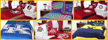 choose your ncaa team for bedding sets comforter sheet sets more plus extra savings at checkout