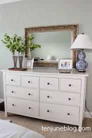 Master Bedroom Dresser Vignette