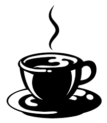 coffee cup vector black and white. Exellent Vector Coffee Cup Silhouette Vector  Gallery Inside Black And White