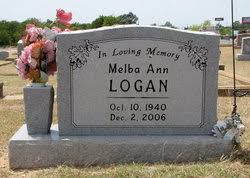 Melba Ann Huggins Logan (1940-2006) - Find A Grave Memorial