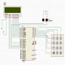 keypad locking system user defined password engineersgarage keypad locking system circuit diagram
