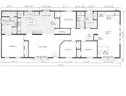 4 bedroom modular home photo 2 of 7 floor plan for 4 bedroom 3 bathroom mobile