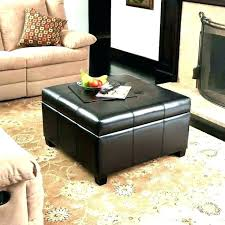 stylist design ideas ottoman used as coffee table tray ottomans tables subject storage with 4 serving