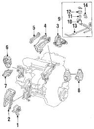 parts com® honda accord secondary resonator oem parts 1994 honda accord ex l4 2 2 liter gas secondary resonator