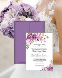 Printable Wedding Invitation Printable Wedding Invitation Romantic Blossoms Make Your Own Diy