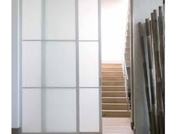 reach in closet sliding doors. Sliding Passage Doors Featuring Low-iron Satin Glass And Dividers Or  Mullions For Modern Style Reach In Closet Sliding D