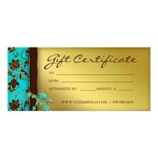 chagne gold glitter salon gift certificate layout estheticians nail technician and gift certificate template