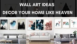 wall art ideas decor your home like