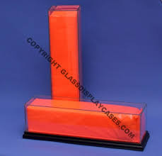 nfl football end zone goal line pylon marker glass display case