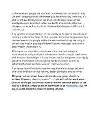 sample essay on roles of interior designers 4 pathway