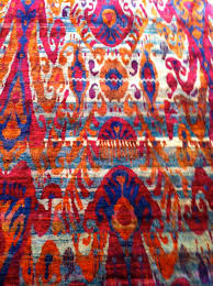 as i strolled around the showroom i couldn t get over the number of new carpets that were extremely bright and colorful and bold in design