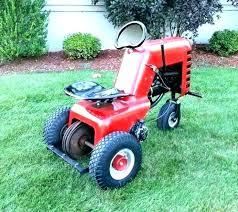 sears suburban tractor attachments garden simplicity craftsman tractors t