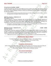 Skills Of A Teacher Resume New Resume For Preschool Teacher Inspirational 40 Best Promote Your