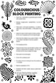 block printing top tips
