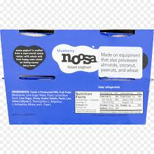 frozen yogurt milk noosa yoghurt nutrition facts label nutrition fact