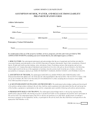General Release Form 24 Images Of General Liability Waiver Template Leseriail 7