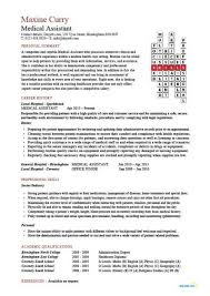 Resume Examples Medical Assistant Beauteous Medical Assistant Resume Sample All Free Resume