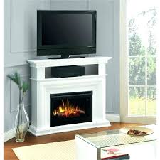 white electric fireplace entertainment center stand brilliant marvelous corner haley