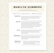 Classic Resume Template Enchanting Classic Resume Template Package By JannaLynnCreative On