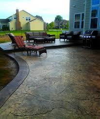 stamped concrete patios in columbus ohio