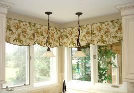 Curtain Patterns For Kitchen Kitchen Simple Red Floral Pattern Fabric Modern Kitchen Curtain