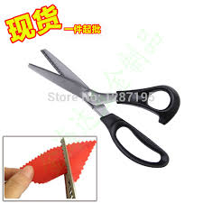 Pattern Scissors Mesmerizing DIY Pattern Scissors Cloth Like Cut Fabric Scissors Serrated