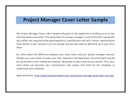 Cover Letter For Product Manager Position Product Manager Cover Letter Example Kadil