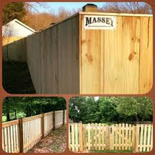 Pictures of wooden fences Balcony Southern Maryland Treated Wood Fences Art Fences Massey Construction Inc Fence And Deck Southern Md Treated