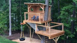 Simple Treehouse Designs Ideas YouTube