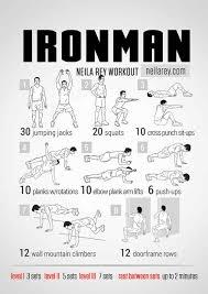 iron man bodyweight workout routine