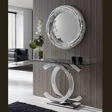 console table with mirror mirror mobilia