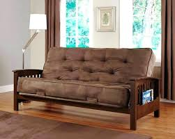 better homes and gardens wood arm futon better homes and gardens wood arm futon image of