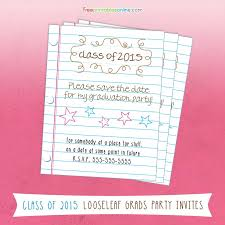 2016 graduation save the date cards