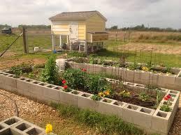 Small Picture Building a cinder block raised garden Yard Garden Plants