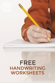 10 FREE HANDWRITING WORKSHEETS | Handwriting worksheets, Free ...