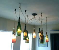 wine bottle chandelier how to make a image of lighting fixtures for pottery barn fo