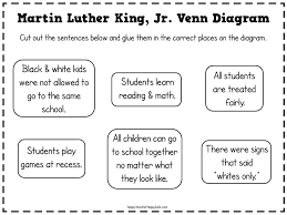 Venn Diagram Ideas Kids Martin Luther King Ideas For First Grade Happy Teacher Happy Kids