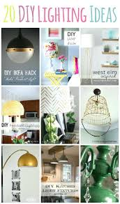 diy lamp lampshade kit uk lampu tidur led unik diy lamp