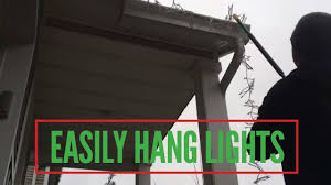 Best Way To Hang Christmas Lights On High Roof