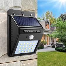 white garden solar lights 20w solar