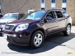 gmc acadia 2008 slt. Fine Slt Dark Crimson Red Metallic  Ebony GMC Acadia SLT AWD Throughout Gmc 2008 Slt A