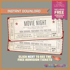 Movie Ticket Template Free Download 24 Movie Ticket Template Editable New Tech Timeline 3