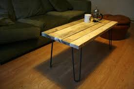 DIY Pallet Coffee Table With Hairpin Legs  99 PalletsPallet Coffee Table With Hairpin Legs