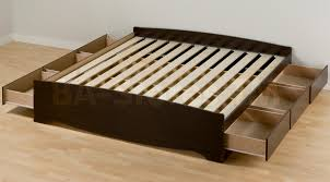 king size bed with storage drawers. Bedroom Design , 7 Hottest King Platform Storage Bed With Drawers : Size I
