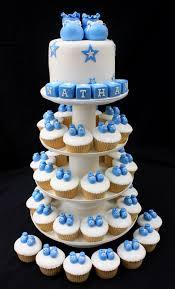 Ba Shower Ba Shower Cupcake Cake Ba Shower Cupcake Cake Baby Shower