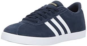 adidas womens. adidas women\u0027s shoes | courtset sneakers, collegiate navy/white/metallic gold, ( womens