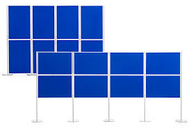 Display Boards Free Standing Panel Pole Display Boards Modular Freestanding Display Boards 5