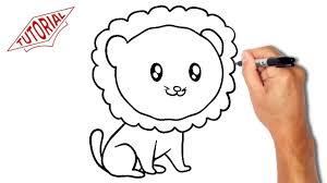 easy lion drawings. Wonderful Easy How To Draw A Lion Easy Stepbystep Drawing Lessons For Kids  YouTube Inside Lion Drawings L